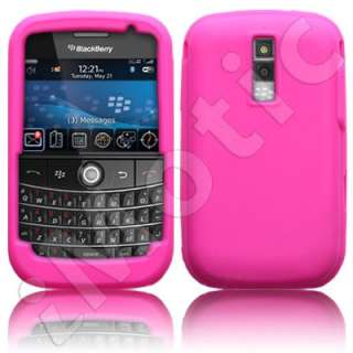 Funda silicona para Blackberry Bold 9000 color ROSA