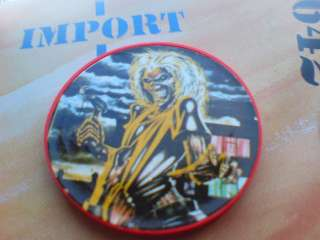 SET OF 2 IRON MAIDEN FULL COLOUR POKER CHIP ALBUM ART FROM KILLERS LP