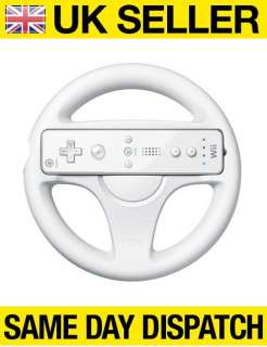 RACING STEERING WHEEL FOR NINTENDO Wii MARIO KART GAME