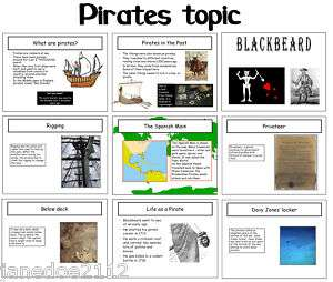 KS1 Creative topic   PIRATES   Primary IWB Teaching Resources