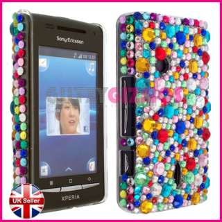 BLING DIAMOND CRYSTAL GLITTER CASE COVER FOR SONY ERICSSON XPERIA X8