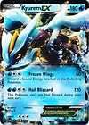 NEW RARE Pokemon Card Hail Blizzard BW3 KYUREM EX 0