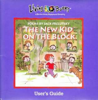 The New Kid On The Block MAC CD interactive objects kids poems