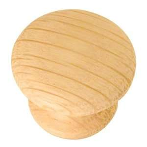 in Round Unfinished Oak Designers Edge Cabinet Knob Home Improvement