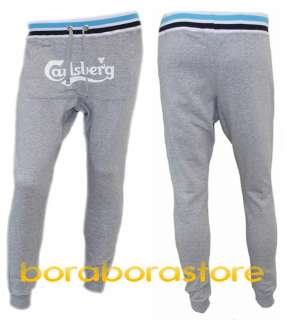 Pantalone uomo Carlsberg tg.S tuta grigio mod.cbu268