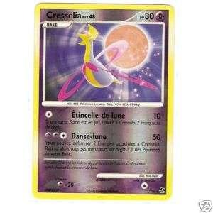 carte pokemon Cresselia 80 pv Holo Rare 2/106 reverse
