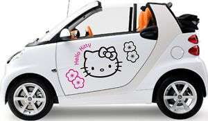 HELLO KITTY kit Adesivi per SMART,FIAT 500 Microcar