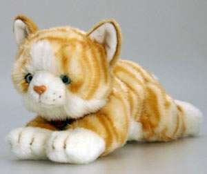 NEW* CUDDLY Ginger CAT AMBER 30CM Soft KEEL Toys |