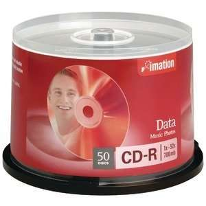 Imation 17301 52X Cd Rs (50 Ct; Spindle) (Computer Media