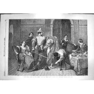 com 1866 Scene Taming Shrew Theatre Kensington Museum Home & Kitchen