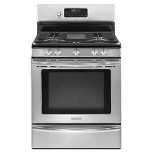 KitchenAid: KGRS208XSS 5.1 cu. ft. oven capacity provides more room to