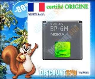 BATTERIE ORIGINE ORIGINAL NEUVE BP6M NOKIA N73 N73 Music Edition N77
