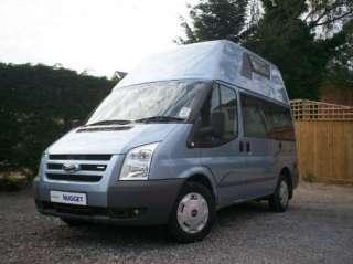 Westfalia Nugget 4 berth camper van Ford Transit diesel