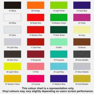Penta Paints Colour Chart