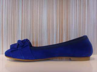 Ballerine Jò in camoscio blu moda casual #B190 n°36 40