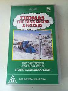 Thomas the Tank Engine   THE DEPUTATION VHS VIDEO PAL (ABC)