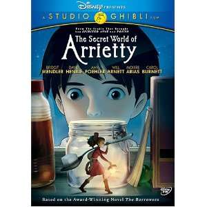 Secret World of Arrietty Bridgit Mendler, David Henrie, Amy Poehler