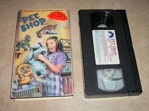 Pet Shop   Rare OOP VHS Comedy Leigh Ann Orsi Spencer Vrooman
