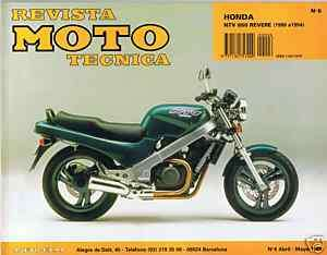 MANUAL REPARACION MOTO TECNICA HONDA NTV 650 REVERE
