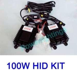 100W 75W HID XENON KIT H1 H3 H4 H7 9005 9006 6000K