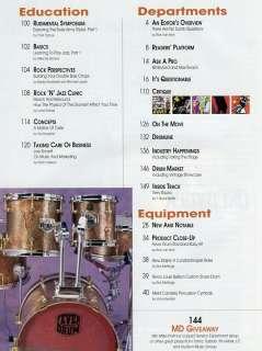 Modern Drummer 5/00 Omar Hakim Shawn Pelton