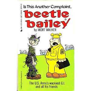 another complaint, Beetle Bailey (9780515105186) Mort Walker Books