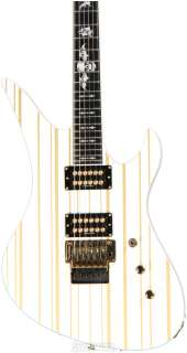 Schecter Synyster Gates Custom (SYN White w/Gold Stripe