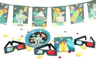 3d party decoration set by plush parties