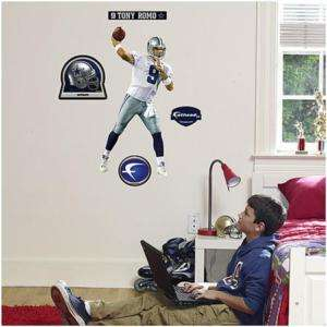 Tony Romo Fathead Dallas Cowboys wall sticker decal