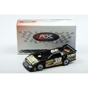 ADC White Series 1/24 Ryan Newman #39 ARMY 2010 Dirt Late