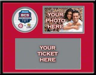 Alabama Crimson Tide 2011 BCS National Championship Your 4x6 Photo and