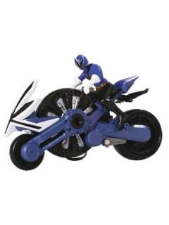 Power Rangers Samurai Blue Disc Cycle and Figure Very.co.uk