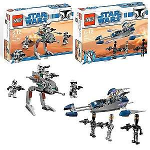 LEGO Star Wars Clone Walker and Assassin Droid Set