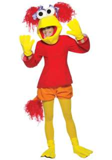 TV / Movie Costumes Fraggle Rock Costumes Red Fraggle Rock Costume