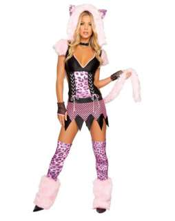 Sexy Naughty Pussycat Adult Costume  Sexy Plus Size Halloween