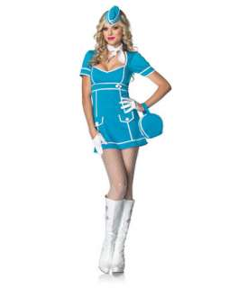 Womens Sexy Classic Flight Attendant Costume  Sexy Occupational