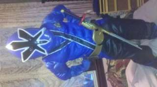Power Rangers Samurai   Blue Ranger Muscle Child Costume, 800424