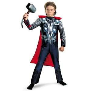 The Avenger Thor Classic Muscle Chest Toddler Costume, 802413