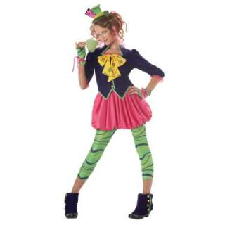 Halloween Costumes The Mad Hatter Tween Costume