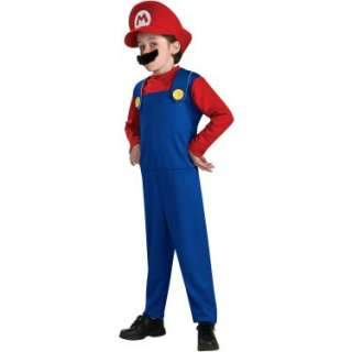 Halloween Costumes Super Mario Bros.   Mario Toddler/Child Costume