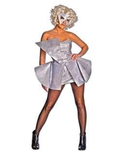 Lady Gaga Silver Sequin Dress Adult  Wholesale TV & Movie Halloween