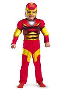 Marvel Superhero Squad Iron Man Toddler Costume for Halloween   Pure