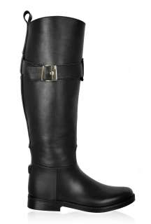 Black Diego Dolcini Rubber Knee Boot by Scholl   Black   Buy Boots