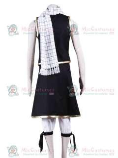 Fairy Tail Natsu Cosplay Costume  Fairy Tail Natsu Costume