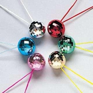 Disco Ball Necklace Asst. (1 count)   Includes 1 disco ball necklace