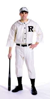 Adult Old Time Baseball Player   Historical Sports Costumes   15GC7169