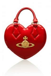 Chancery Heart Bag by Vivienne Westwood Accessories   Red   Buy Bags
