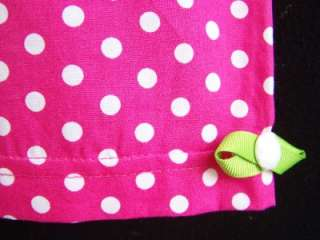 NEW Girls PINK & LIME LOVELY LADYBUG Size 2T Capri Clothes NWT
