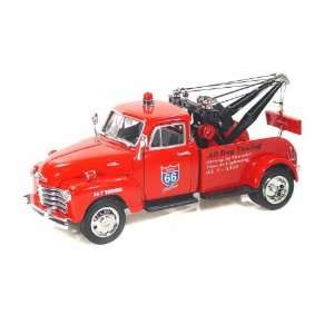 1953 Chevy Tow Truck 1/24 Red   Toys & Games