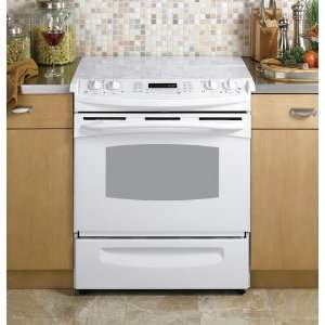 Electric Profile PS968TPWW   GE Profile 30Slide In Electric Range